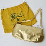 IL BISONTE|ゴールドレザー ミニショルダーバッグ|新品お買取情報