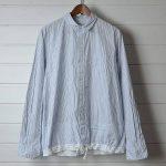 Sacai|サカイ 裾ドローコード ストライプシャツのお買取