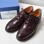 サンダース|SANDERS 9734Rブローグシューズのお買取り