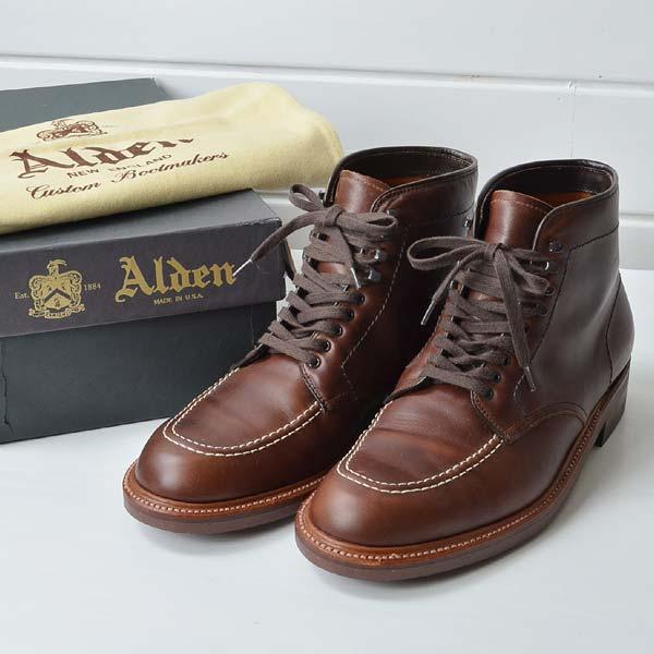 オールデン ALDEN J.CREW40510Hインディーブーツ|8.5Dのお買取り情報