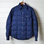 クレセントダウンワークス|6040ダウンシャツ|ネイビーのお買取り情報