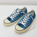 コンバース オールスター USA製 ビンテージ キャンバス 8 ローカット ブルーのお買取り