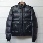ディオールオム レザー ダウン ジャケット Dior hommeのお買取り情報
