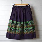 ミナペルホネン|ランドリー path 刺繍スカートのお買取