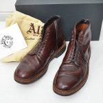 ALDEN オールデン 86062H ROY BOOT NY CONTEXT別注 ロイ ブーツ 7E プレーントゥ レースアップのお買取り情報