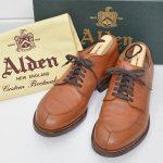 ALDEN Vチップ カーフ 54421 オールデンのお買取り情報