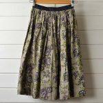 NATIVE VILLAGE |コットンシルク花柄ギャザースカートのお買取