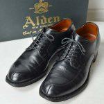 ALDEN|ビームス別注アルパインカーフ Vチップのお買取り情報