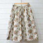 ガサ GASA|クローゼットの実から 花柄スカートのお買取
