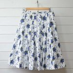 ガサ GASA|記憶の色分け 花柄スカートのお買取