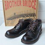 ブラザーブリッジ|BROTHER BRIDGE BIDASSOAプレーントゥミッドカットブーツのお買取り情報