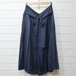 トゥジュー シルク リボンスカート F ネイビー TOUJOURSのお買取