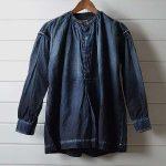 キャピタルカントリー|KAPITAL KOUNTRY ダメージ加工 インディゴ プルオーバーシャツのお買取
